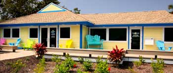 View of SanCap Gateway's Sanibel Island Real Estate Office.